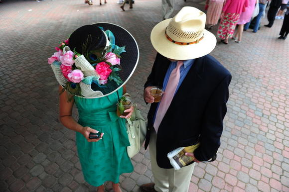 Hat Day at the Races